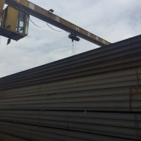 现货销售国标H型钢 工字钢Q235B结构定尺钢梁 厂房图片