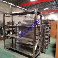 佛山食品機械304型不銹鋼貨架冷庫不銹鋼貨架201不銹鋼員工手機柜