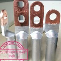 專業銅鋁接線端子.銅鋁過鍍線鼻子.DTL銅鋁鼻子廠家