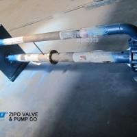 自贡自泵水泵厂ZFY型ZYH型ZYW型无阻塞液下泵废水泵液下排污泵