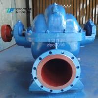 自贡S或SH中开蜗壳式单级双吸离心泵循环泵清水泵图片