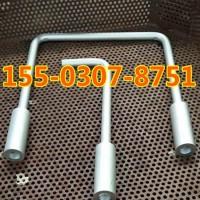 卸料平台预埋件 悬挑型钢卸料平台多元合金共渗螺栓 N5预埋螺栓L型U型20mm