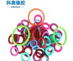 硅膠o型圈食品級 彩色硅膠O型密封圈 耐高溫O-ring 環保級O環圖片