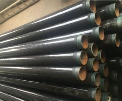 埋地污水管道用什么防腐,3油2布防腐螺旋管-3pe防腐焊管