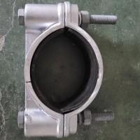浙江賽浦電纜固定夾具、高壓電纜抱箍卡箍鋁合金圖片