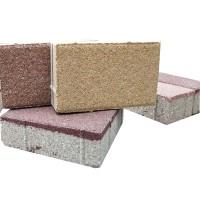 陶瓷透水磚生產廠家大批量生產60*30彩色滲水磚圖片