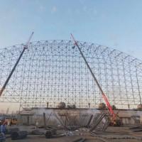 大型網架工程 加油站螺栓球網架廠家 鋼球網架多少錢一平方圖片