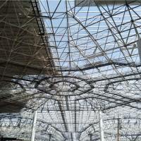 球型網架施工方案 煤棚網架多少錢一平方圖片