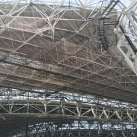 網架拱形 螺栓球網架 價格 鋼網架圖片
