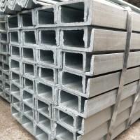 供應鍍鋅槽鋼 鍍鋅槽鋼角鋼 黑槽鋼 天津角鋼 槽鋼 鍍鋅角鐵 成都大量現貨供應 價格優勢圖片