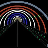 隧道电光蓄能自发光材料-公路隧道自发光应急诱导系统