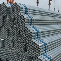 熱鍍圓管 熱浸鍍鋅管 鍍鋅大棚管 鍍鋅方管圖片