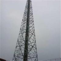 煙囪支架 角鋼煙囪塔 四柱煙筒鐵塔 定做圖片