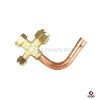 振協(zxpipe)黃銅空調閥|可定制黃銅管件|家用連接銅管件|空調制冷配件圖片