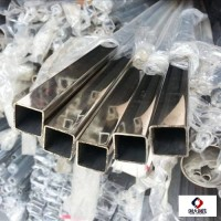 316l不銹鋼方管耐腐蝕性990.7mm 40x80不銹鋼方管價格 方管焊不銹鋼門圖片