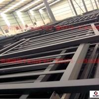 河南省安陽組裝烤漆陽臺飄窗空調防護欄室外施工噴塑鋼材圖片