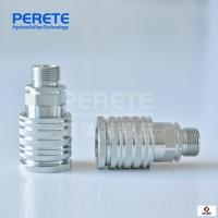 ISO16028KSP-FF/FE挖机高压平头式液压平面快速接头碳钢