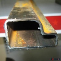熱銷供應門窗框架用p型管_p型管材無縫管_鍍鋅異型管_異型管材圖片