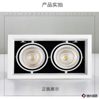 汶莱优质 嵌入式COB聚光豆胆灯格栅灯