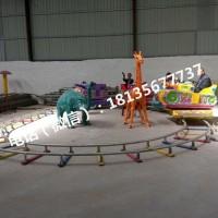 四节八座激光战车游乐设备 赶庙会可移动电动玩具