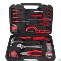 万克宝手动工具家用工具套装带螺丝刀套装25件套电工维修工具组套