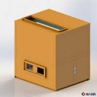 奥伯特整体式空气能热泵除湿机  果蔬烘干机 云南草果烘干
