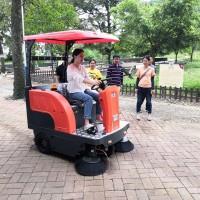 喷水驾驶式扫地车 中型电动扫地机 长淮S1500