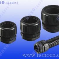 尼龙拧紧式软管直接头 防水型塑料软管接头 抗拉型波纹管接头