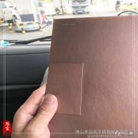 304发黑红古铜不锈钢板201拉丝青古铜薄板做旧仿古铜哑光乱纹厂家图片