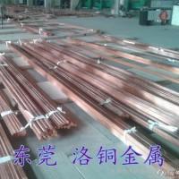 大小直径六角紫铜棒T2 易切削导电专用无氧铜棒 红铜方棒图片