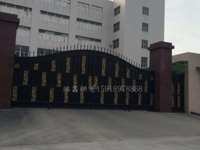 汕头金属门、铁艺大门、工艺门、铁艺制品、别墅门
