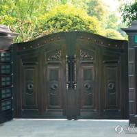 美捷尔铜艺定制—豪华庭院铜门