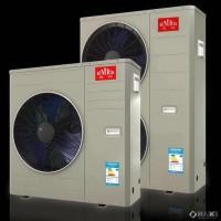 变频直流无刷中央空调 冷暖两用 制冷风管 采暖地暖管 家庭中央空调 内置GLF循环泵一体式家庭中央空调
