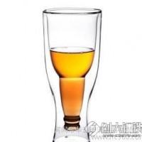 真空双层杯  隔热双层杯 耐热玻璃杯双层玻璃杯