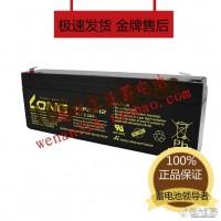 广隆蓄电池 LONG WP2.4-12 12V2.4AH 照明 医疗设备 船舶设备用