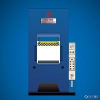 俪鑫 液压机框架式主油缸出力可定制