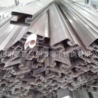 银川304不锈钢凹槽管 报价大量现货图片