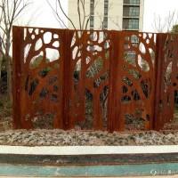 耐候钢板是钢板 耐候钢板做成锈红色耐候钢全新报价耐候钢现货销售厂家供应耐候板图纸加工镂空雕刻