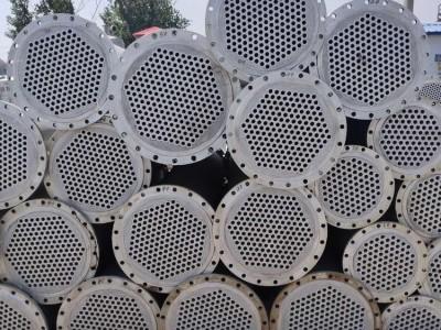 浩天供销 二手石墨冷凝器 型号齐全 60平方不锈钢列管式冷凝器 型号齐全 二手冷凝器