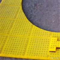 佰源生产 钻盘防滑钉子板 钻井防滑垫 石油钻井聚氨酯防滑垫 黄色聚氨酯防滑垫图片