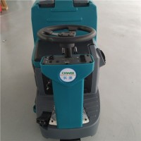 中型驾驶式洗地机 多功能清洁设备 洗地吸干机图片