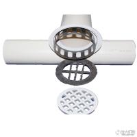 桥梁pvc泄水管 高铁高架桥 PVC泄水管件 管盖管篦铸铁泄水管 pe管件图片