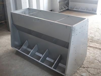 双丰养殖 不锈钢料槽 河南不锈钢料槽 猪用不锈钢料槽 型号全厂家现货速发