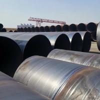 镀锌螺旋管厂家 泵站排水螺旋管道钢管现货 流体用螺旋钢管图片