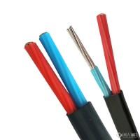 铝芯绝缘护套电线_双芯防老化_防老化铝导线_聚乙烯绝缘电线 35平方图片