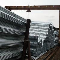 镀锌管镀锌钢管 成都量力钢材市场镀锌钢管华岐镀锌管代理商图片