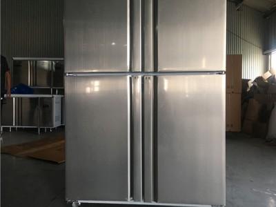 四门冰箱商用立式冷柜双温冷柜价格厨房商用冷柜四开门冷柜立式大容量六门冷柜保鲜冷冻两用冷柜价格立式冷柜