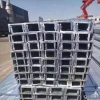 天津镀锌槽钢厂  胜宝钢铁 镀锌槽钢 建筑幕墙工程热镀锌槽钢批发加工 规格齐全
