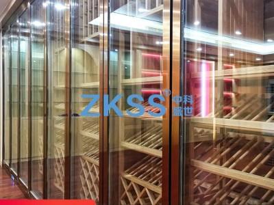 专业会所不锈钢酒柜定制  餐厅不锈钢恒温酒柜  高端不锈钢恒温酒柜 不锈钢恒温酒窖设计定制