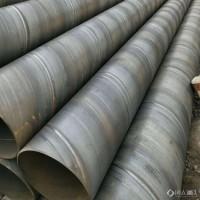 镀锌螺旋管 泵站排水螺旋管道钢管库存 沧州螺旋钢管图片